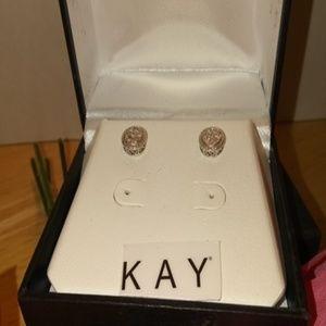 Kay Jewelers Diamond Solitaire Earrings